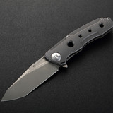 HERO(Ceramic ball bearing and Titanium unibody liner lock folding knife)
